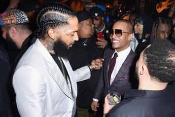 "T.I.比较Nipsey Hussle's Death To ""Avengers"" & ""Iron Man"""