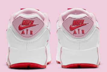 "耐克Air Max 90""Valentine's Day"" Coming Soon: Photos"
