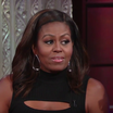 Watch Michelle Obama's Impression Of Barack On The Late Show