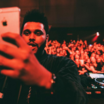 """The Weeknd FaceTimes Future During Epic Moment At """"Starboy"""" Premiere Event"""