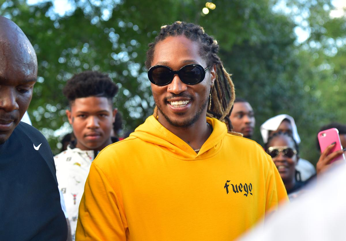 Future smiling big at Zone 6 Day