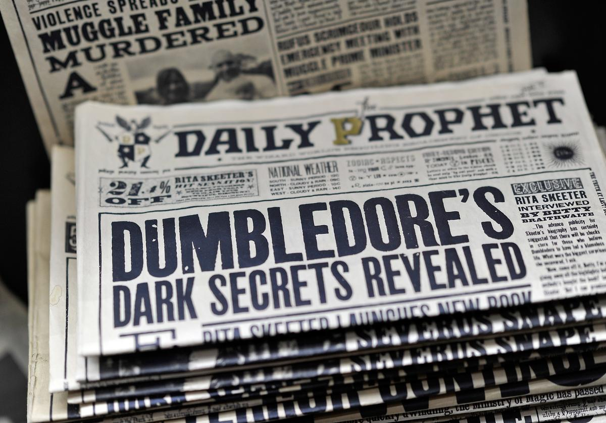 Wizarding World tabloids