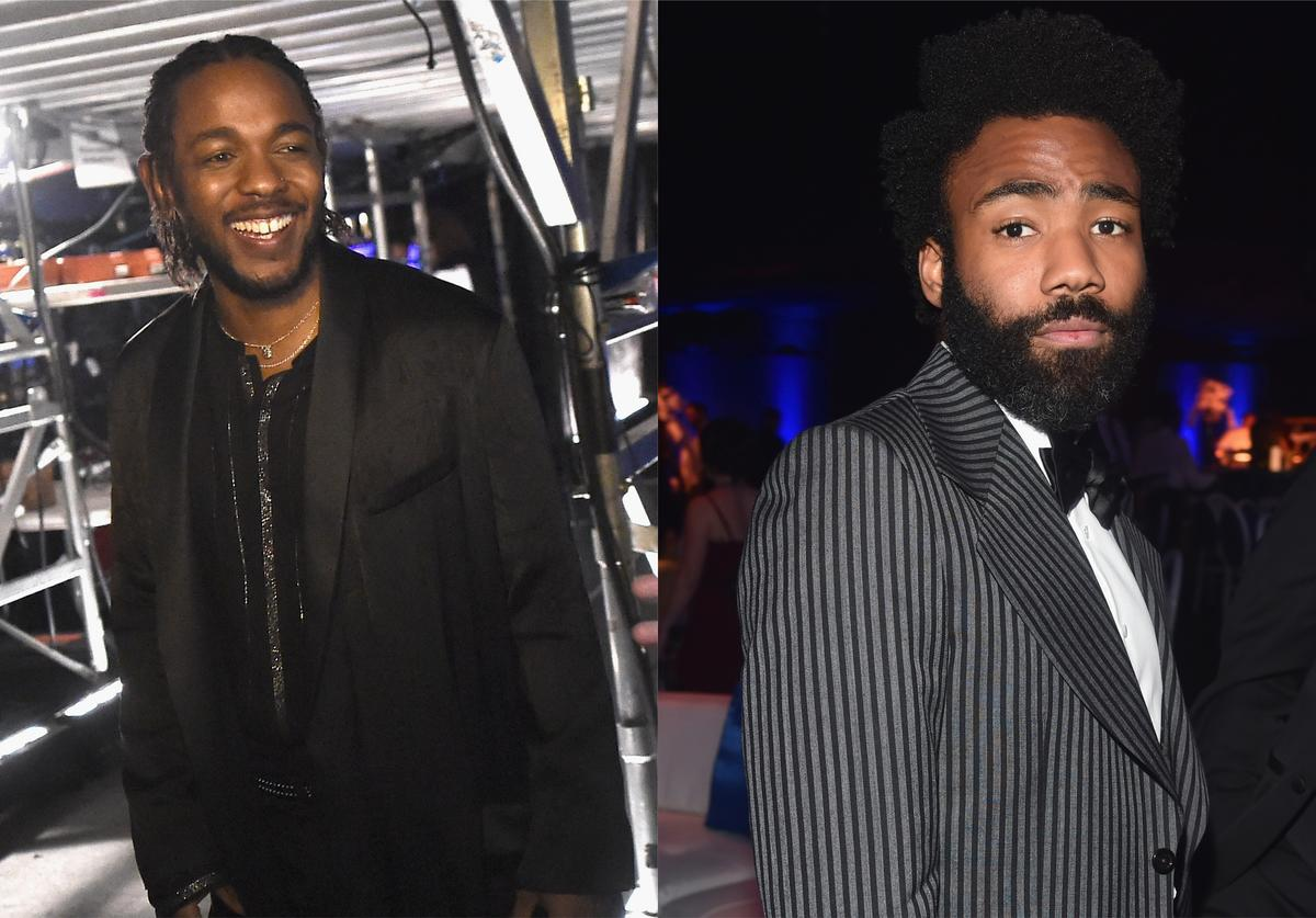 Kendrick Lamar and Childish Gambino snubbed by TIME