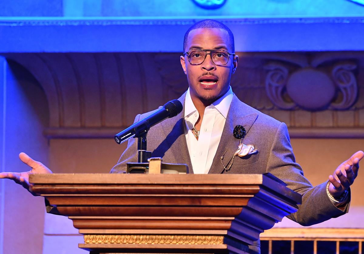 Tip 'T.I.' Harris speaks onstage during the 2019 IMAGE Film Awards Gala at Fox Theater on April 03, 2019 in Atlanta, Georgia