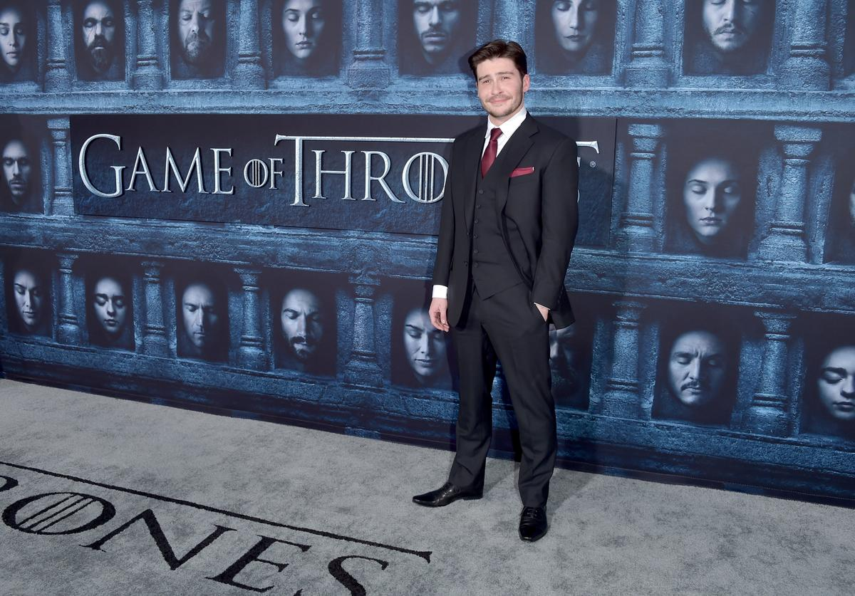 """Actor Daniel Portman attends the premiere of HBO's """"Game Of Thrones"""" Season 6"""