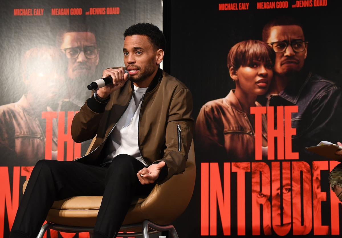 """Actor Michael Ealy onstage during """"The Intruder"""" Clark Atlanta University Spring Fest 2019"""