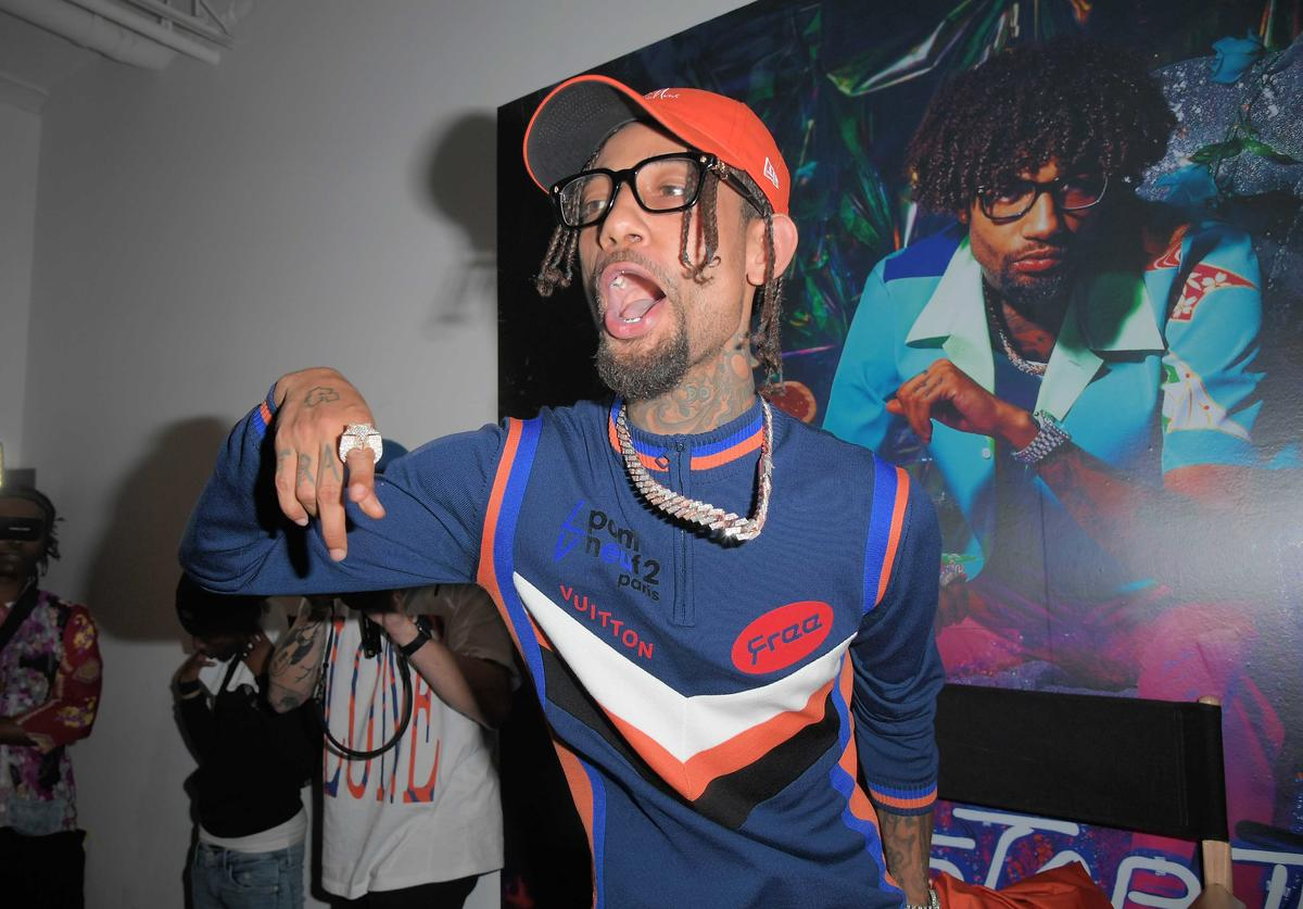 PnB Rock performs at TIDAL X PnB Rock 'TrapStar Turnt PopStar' album listening experience at Foley Gallery on May 02, 2019 in New York City.