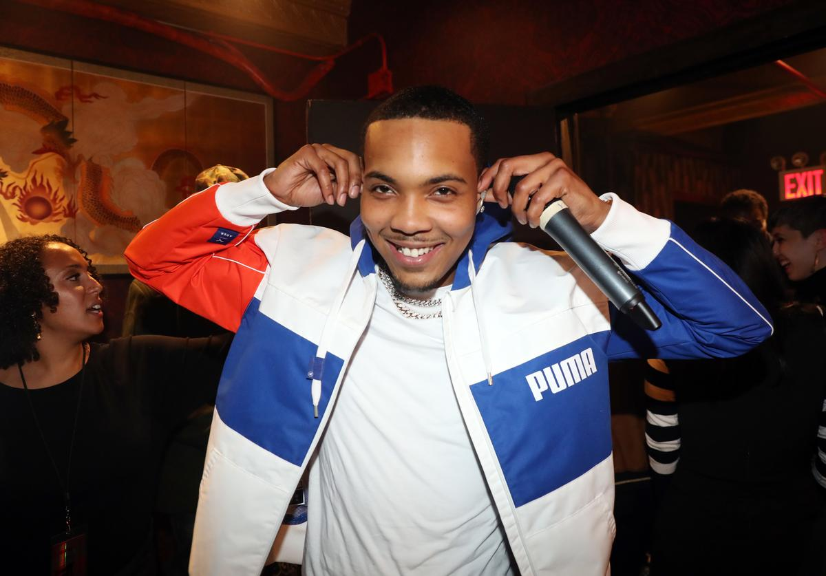 Recording artist G Herbo backstage at Gramercy Theatre on October 23, 2018 in New York City.