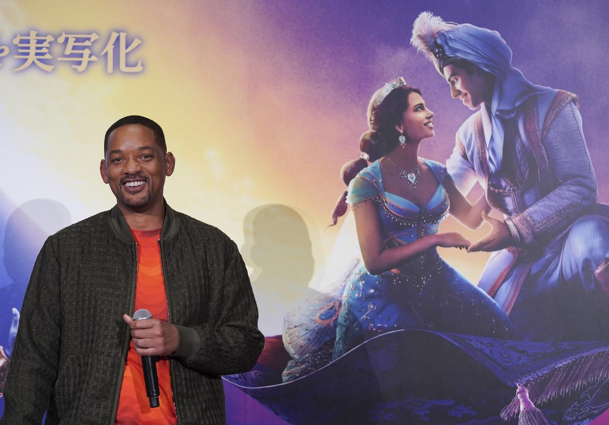 Will Smith attends the special screening of 'Aladdin' Japan premiere on May 17, 2019 in Tokyo, Japan.
