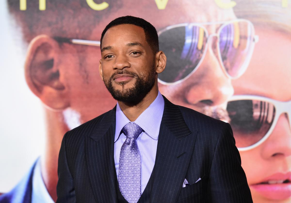 "Actor Will Smith attends the Warner Bros. Pictures' ""Focus"" premiere at TCL Chinese Theatre on February 24, 2015 in Hollywood, California"
