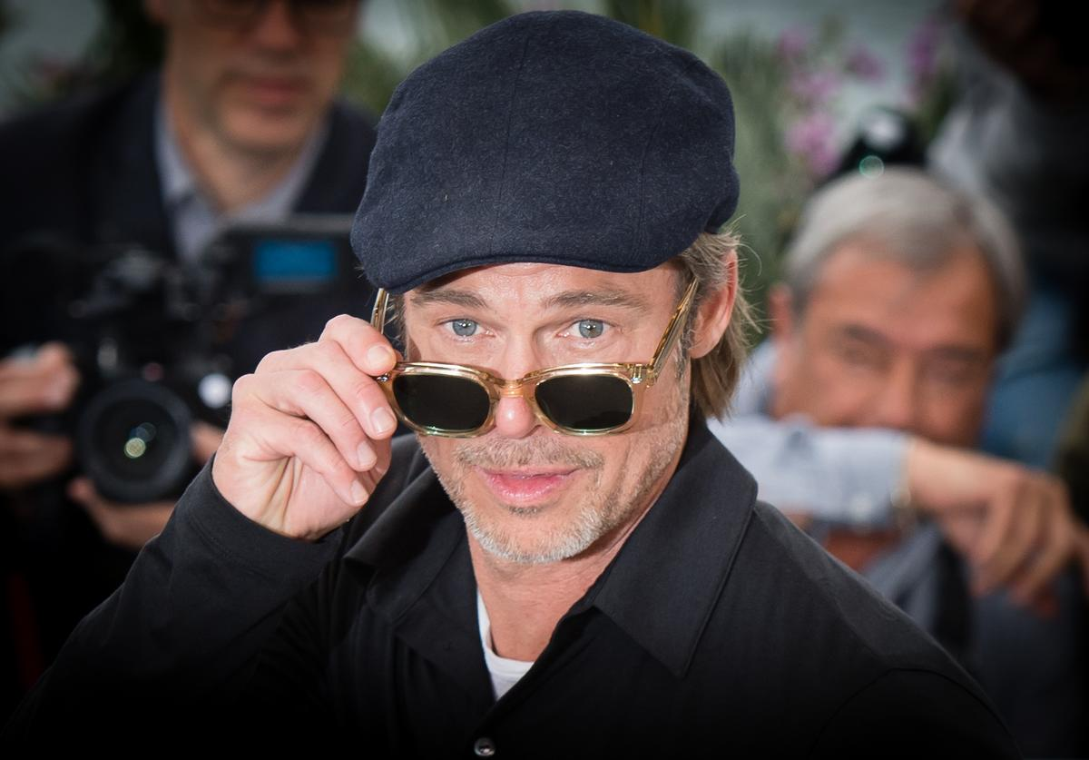 """Brad Pitt attends thephotocall for """"Once Upon A Time In Hollywood"""""""