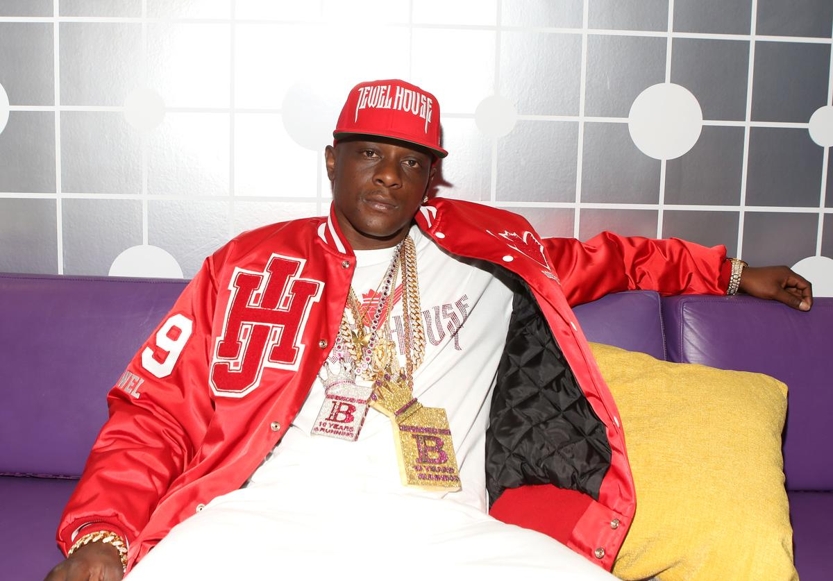 Lil Boosie visits 106 & Park at BET studio on April 24, 2014 in New York City.