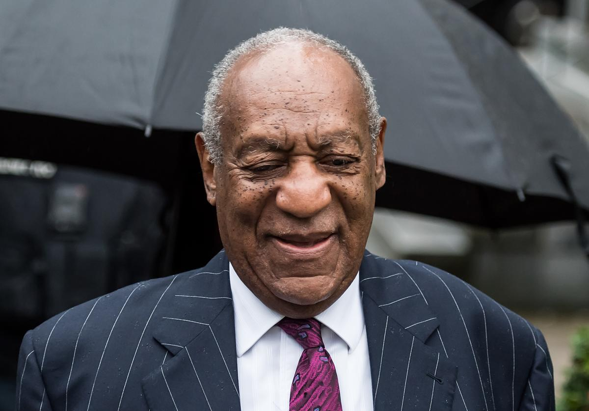 Bill Cosby arrives for sentencing for his sexual assault trial at the Montgomery County Courthouse on September 25, 2018 in Norristown, Pennsylvania