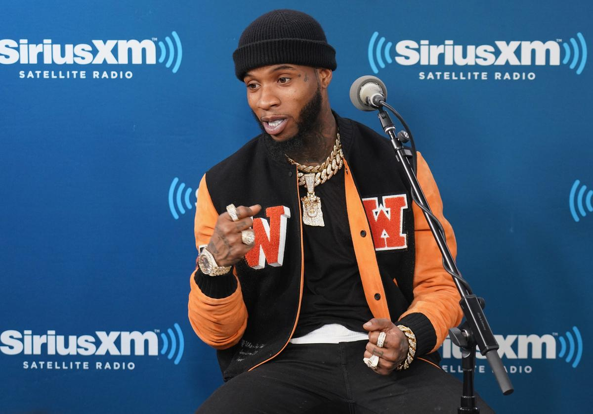 Tory Lanez takes part in his album listening event on SiriusXM's The Heat Channel at SiriusXM Studios on March 2, 2018 in New York City
