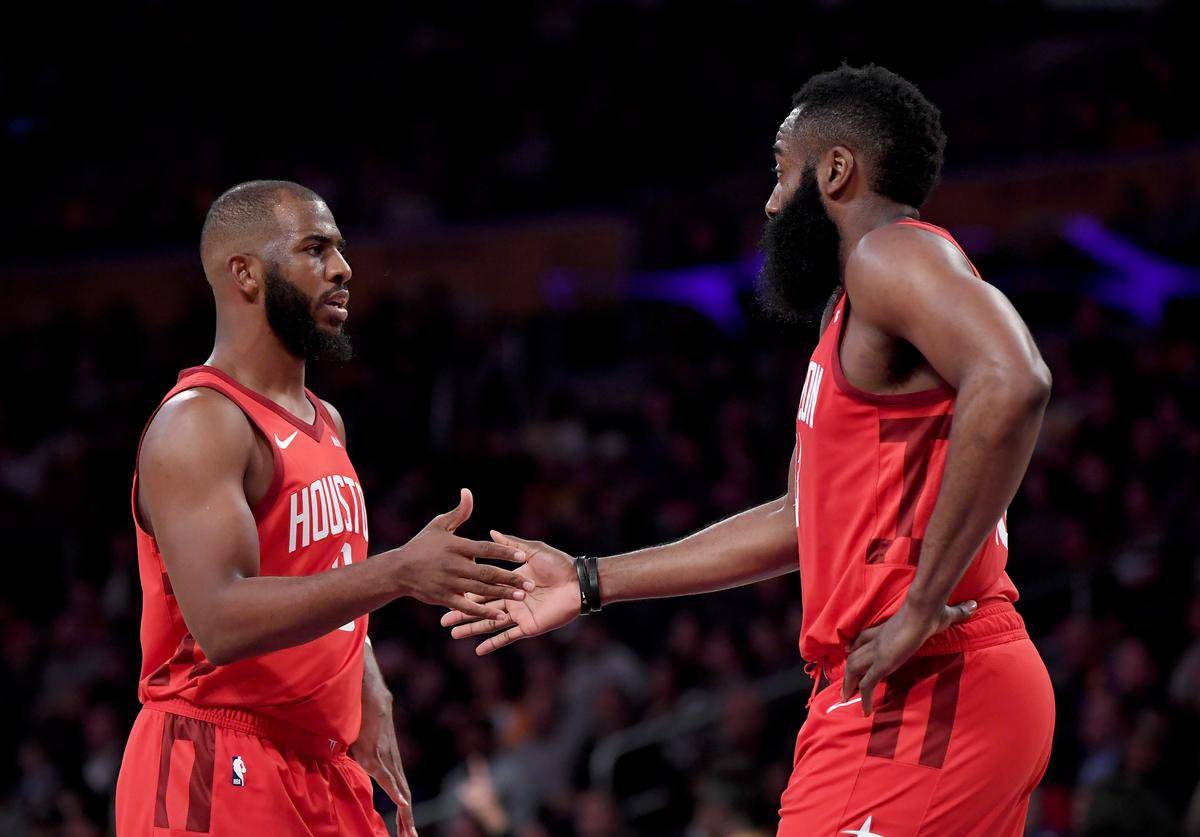 Chris Paul & James Harden