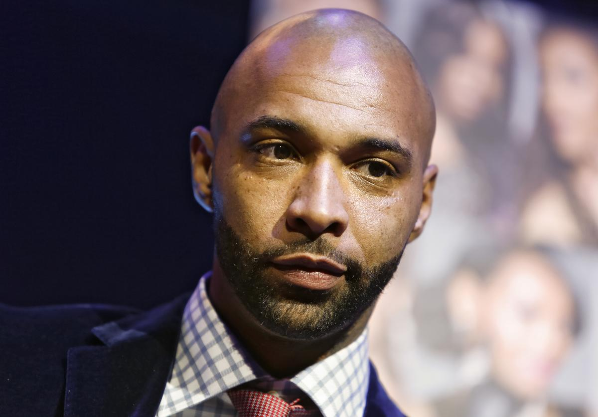 """Cast member Joe Budden appears at the VH1 """"Love & Hip Hop"""" Season 4 Premiere at Stage 48 on October 28, 2013 in New York"""