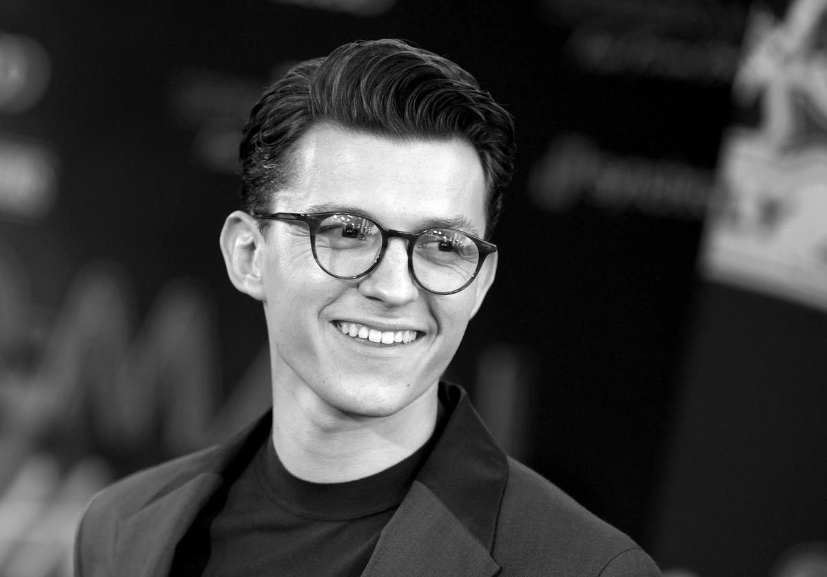 """Tom Holland arrives at the premiere of Sony Pictures' """"Spider-Man: Far From Home"""""""