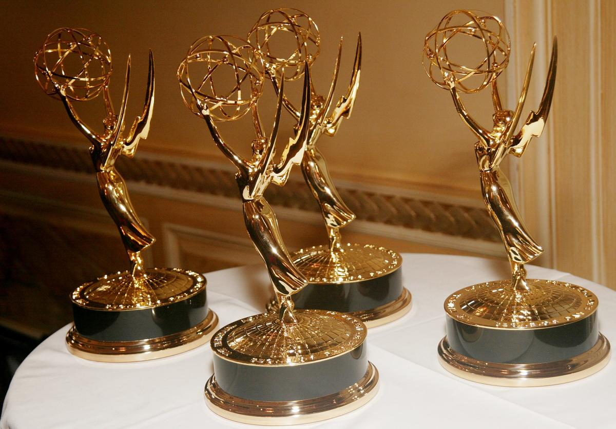 Emmys at the First Annual News & Documentary Emmy Awards for Business & Financial Reporting at a private club December 04, 2003 in New York City