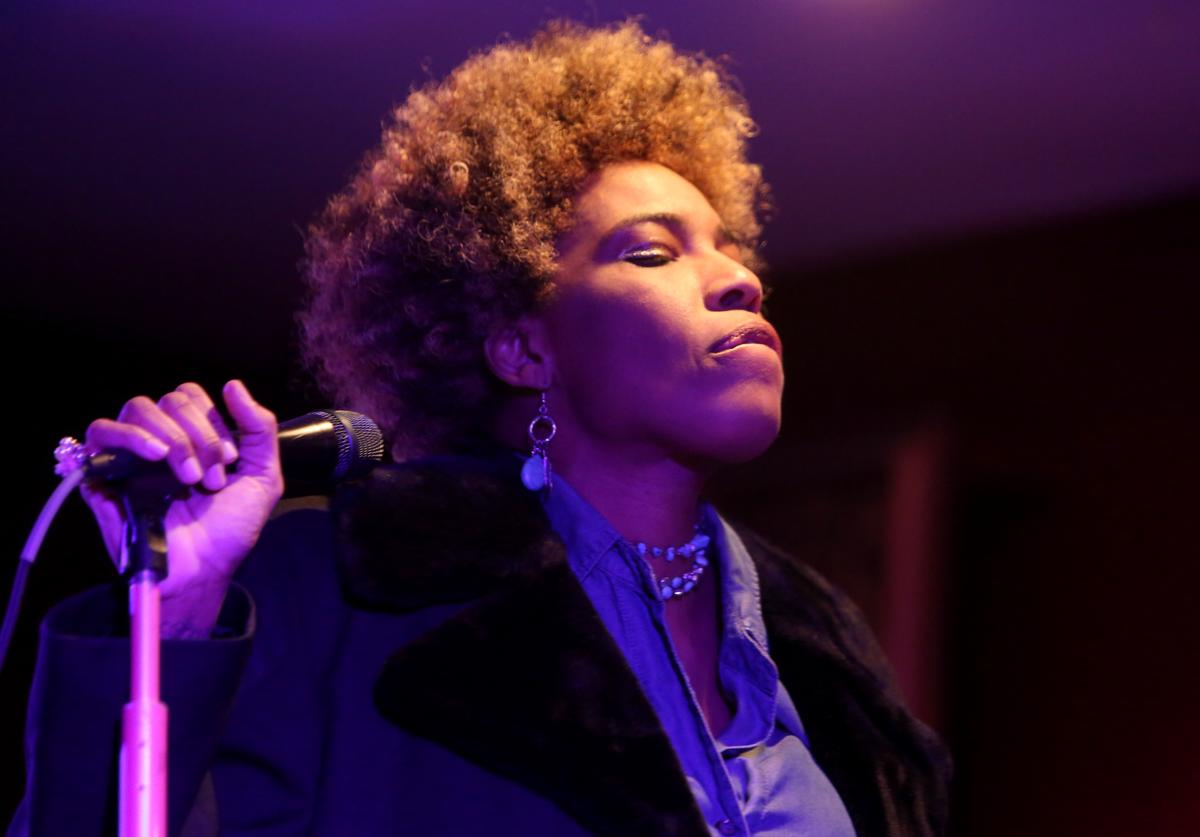 Macy Gray performs during ChefDance Storytellers Dinner Series on February 22, 2019 in Los Angeles, California