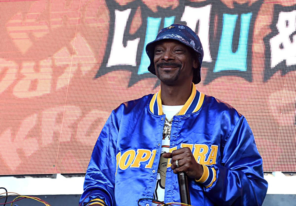 DJ Snoopadelic performs onstage at KROQ Weenie Roast & Luau at Doheny State Beach on June 08, 2019 in Dana Point, California.
