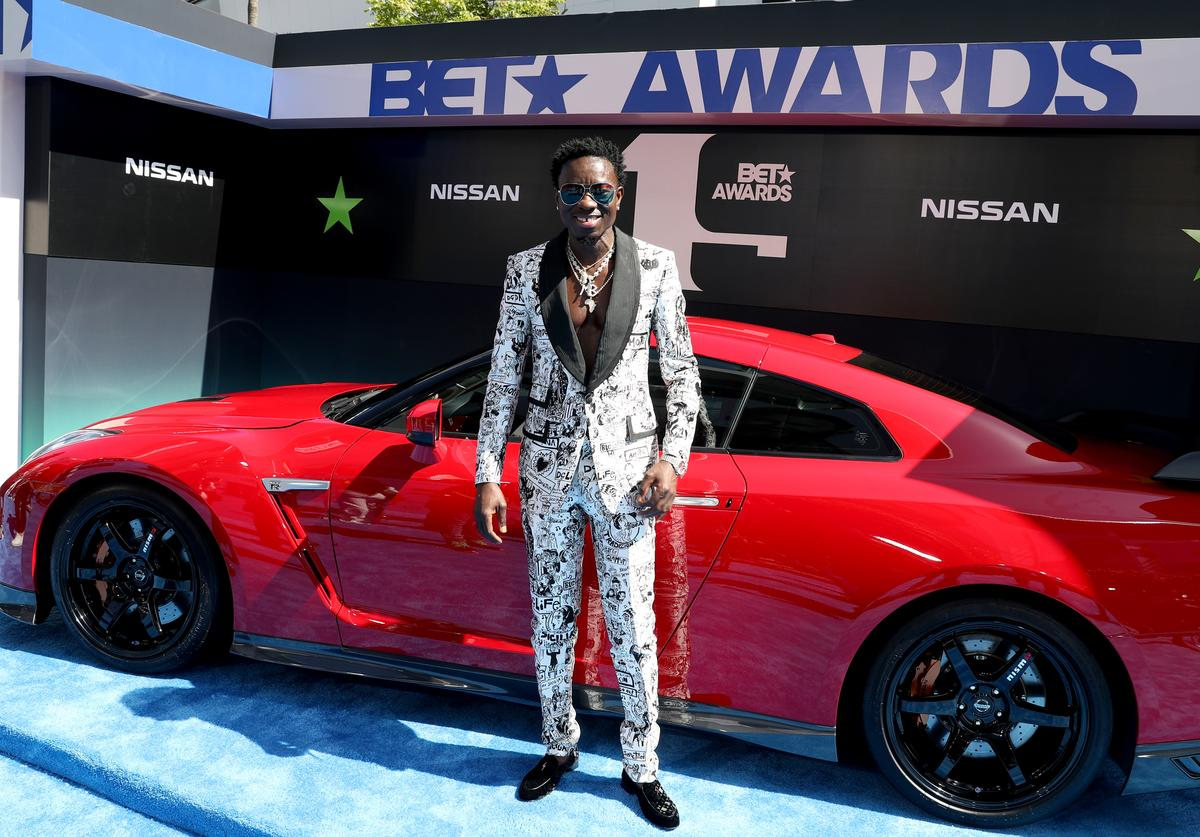 Michael Blackson attends the 2019 BET Awards at Microsoft Theater on June 23, 2019 in Los Angeles, California.