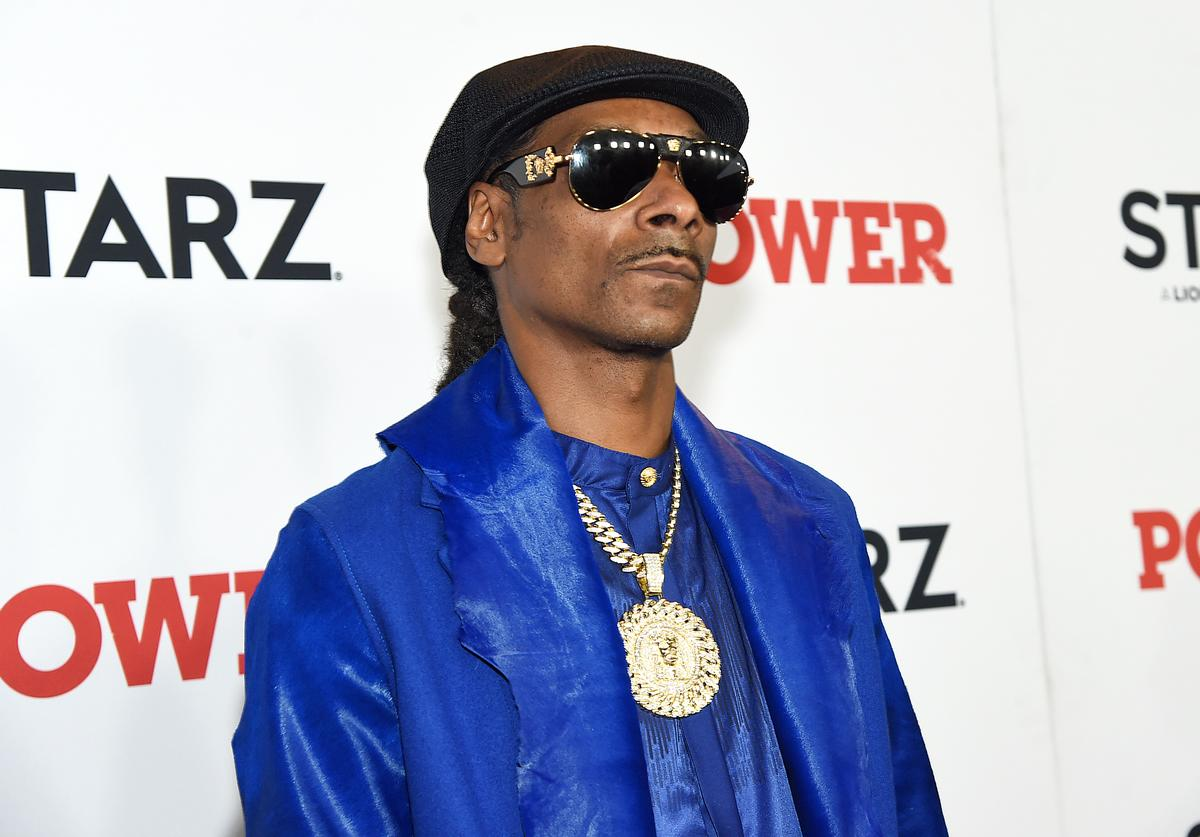 """Snoop Dogg at STARZ Madison Square Garden """"Power"""" Season 6 Red Carpet Premiere, Concert, and Party on August 20, 2019 in New York City"""