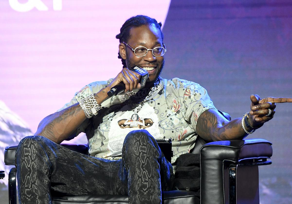 2 Chainz at REVOLT Summit.
