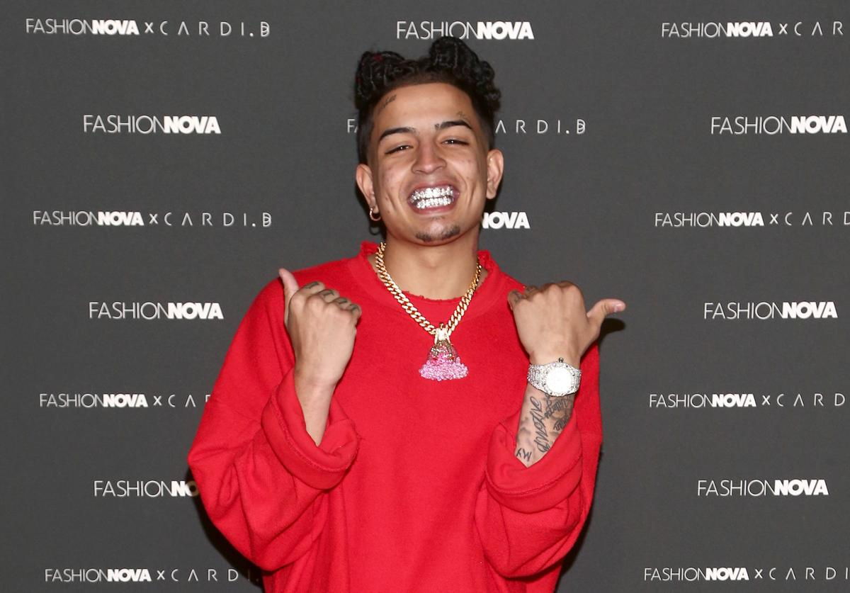 Skinnyfromthe9 arrives as Fashion Nova Presents: Party With Cardi at Hollywood Palladium on May 8, 2019 in Los Angeles, California.