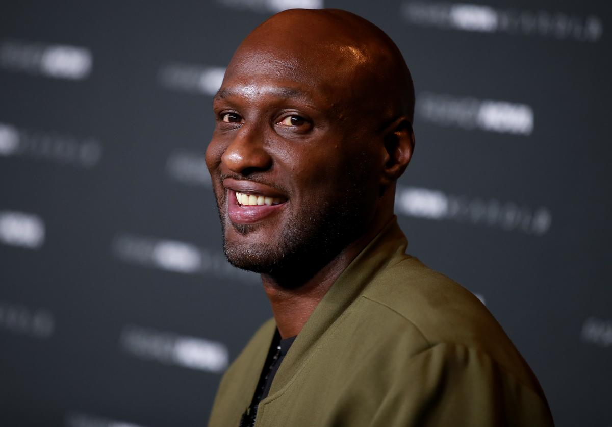Lamar Odom attends the Fashion Nova x Cardi B Collection Launch Party at Hollywood Palladium on May 08, 2019 in Los Angeles, California