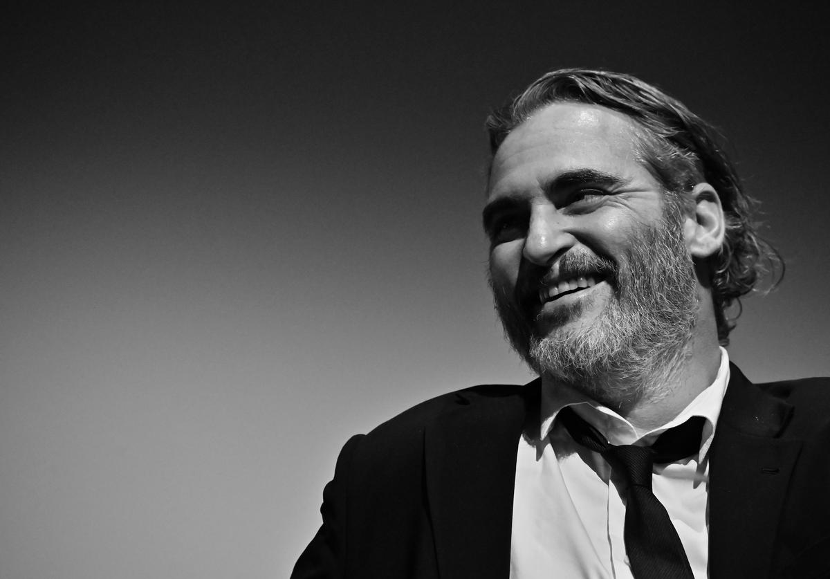 """Joaquin Phoenix attends the 57th New York Film Festival - """"Joker"""" Intro and Q&A at Alice Tully Hall"""