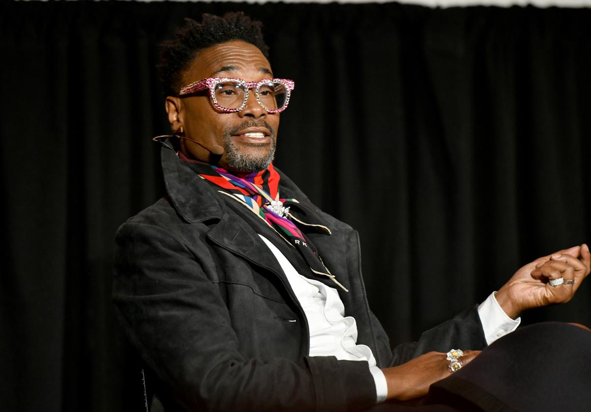 Billy Porter speaks onstage during a talk with Rachel Syme at the 2019 New Yorker Festival on October 12, 2019 in New York City.