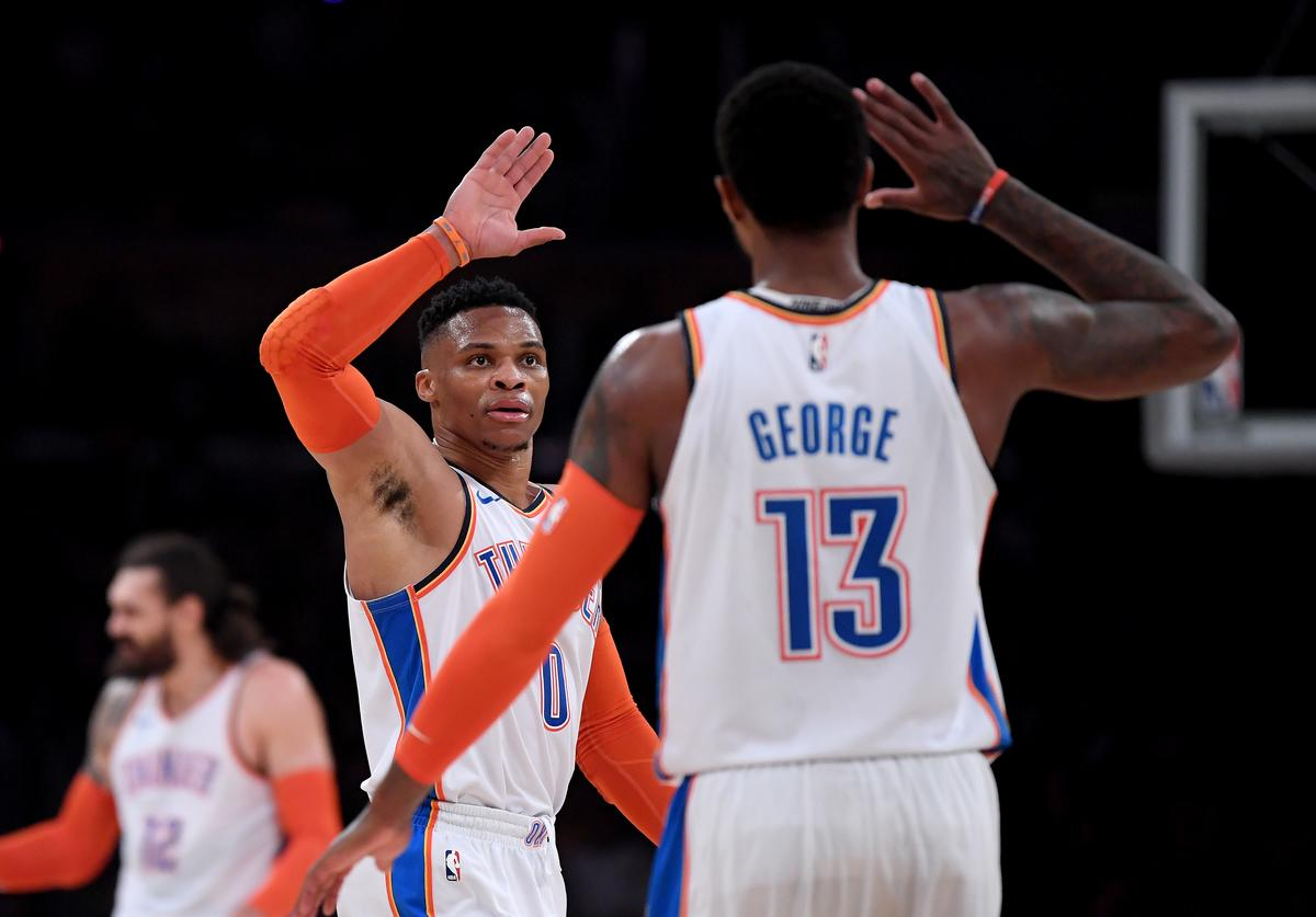 Russell Westbrook & Paul George
