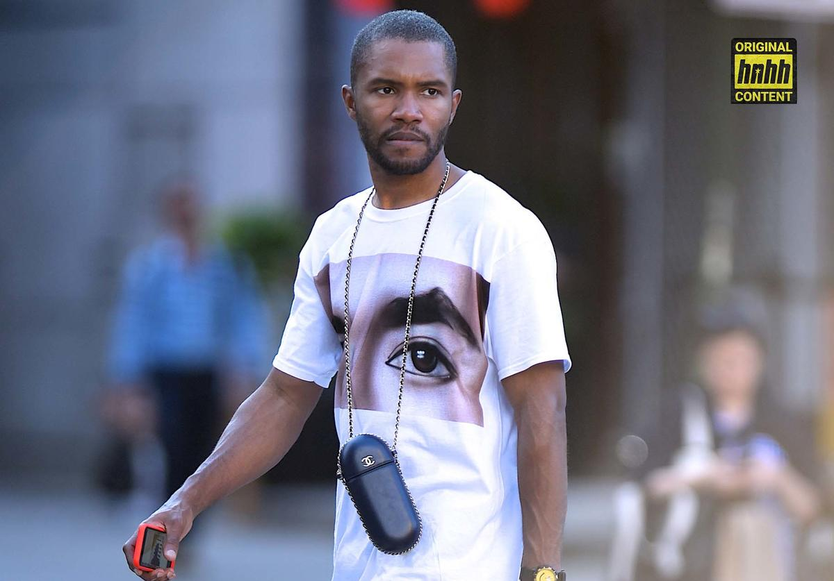 Frank Ocean spotted out in NYC