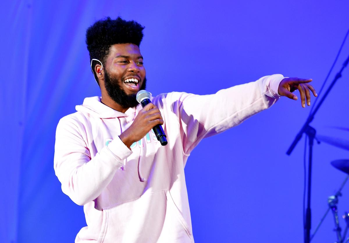Khalid performs onstage at CBS RADIO's We Can Survive 2017 at The Hollywood Bowl on October 21, 2017 in Los Angeles, California