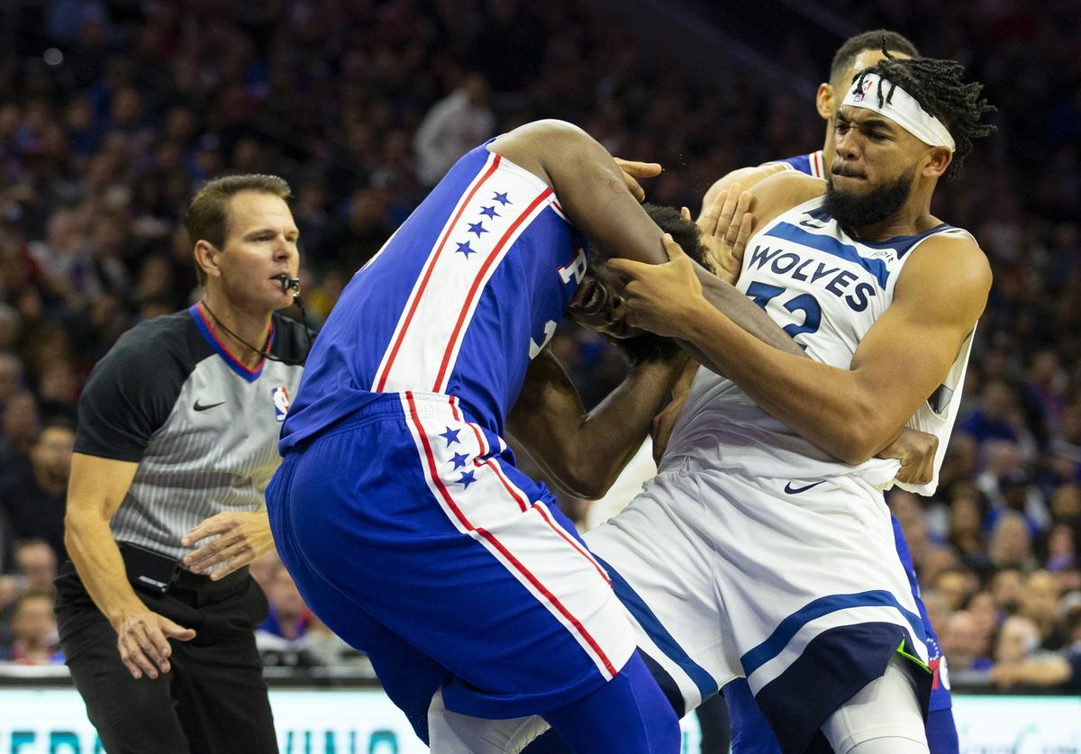 Joel Embiid & Karl-Anthony Towns