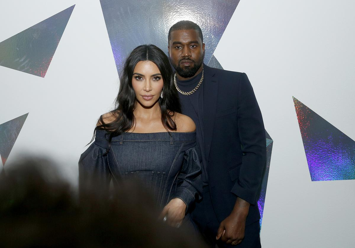 Kim Kardashian West and Kanye West attend the WSJ. Magazine 2019 Innovator Awards sponsored by Harry Winston and Rémy Martin at MOMA on November 06, 2019 in New York City