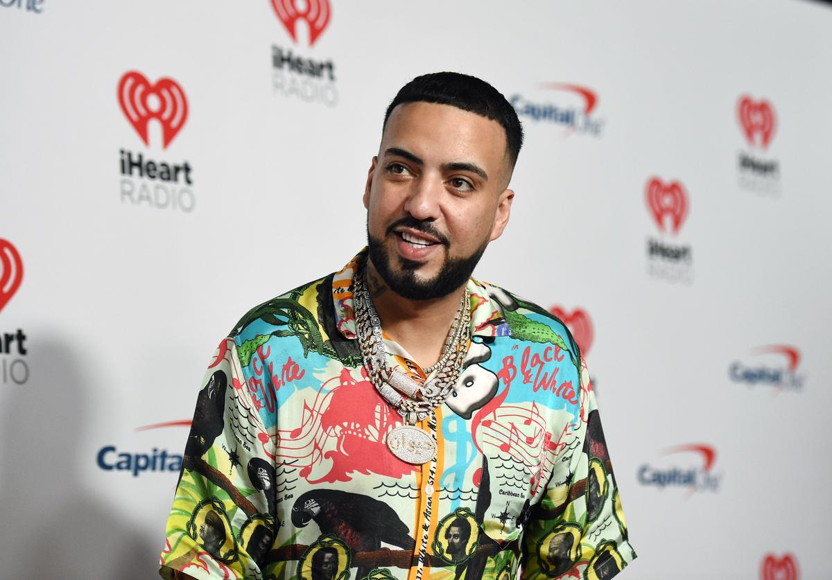 French Montana at  iHeartRadio Music Festival