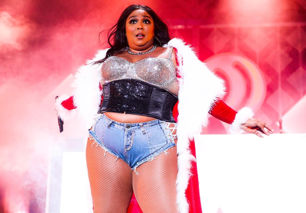 Lizzo performs onstage during 102.7 KIIS FM's Jingle Ball 2019 Presented by Capital One>> at The Forum on December 06, 2019 in Inglewood, California