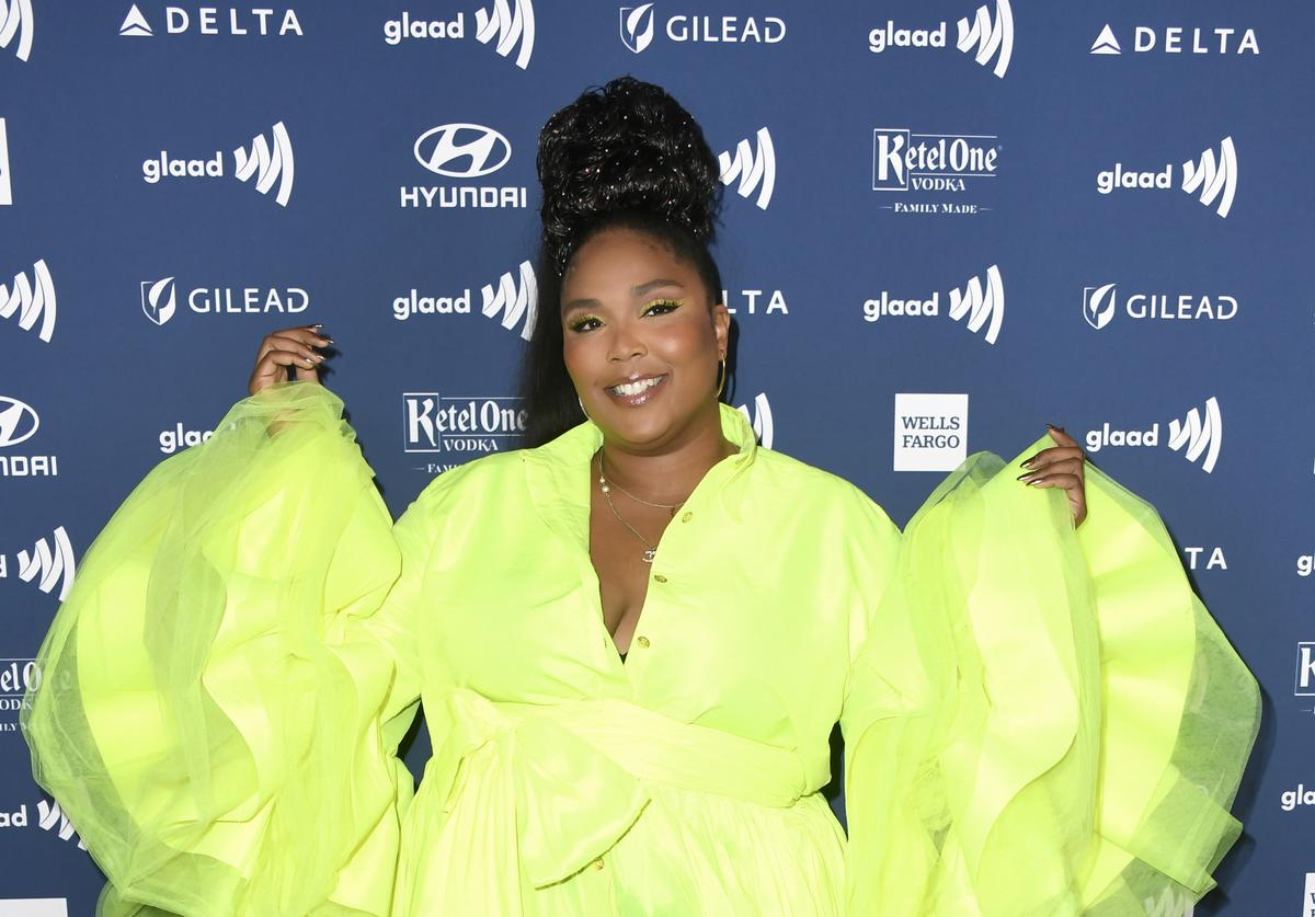 Lizzo attends the 30th Annual GLAAD Media Awards at The Beverly Hilton Hotel on March 28, 2019 in Beverly Hills, California