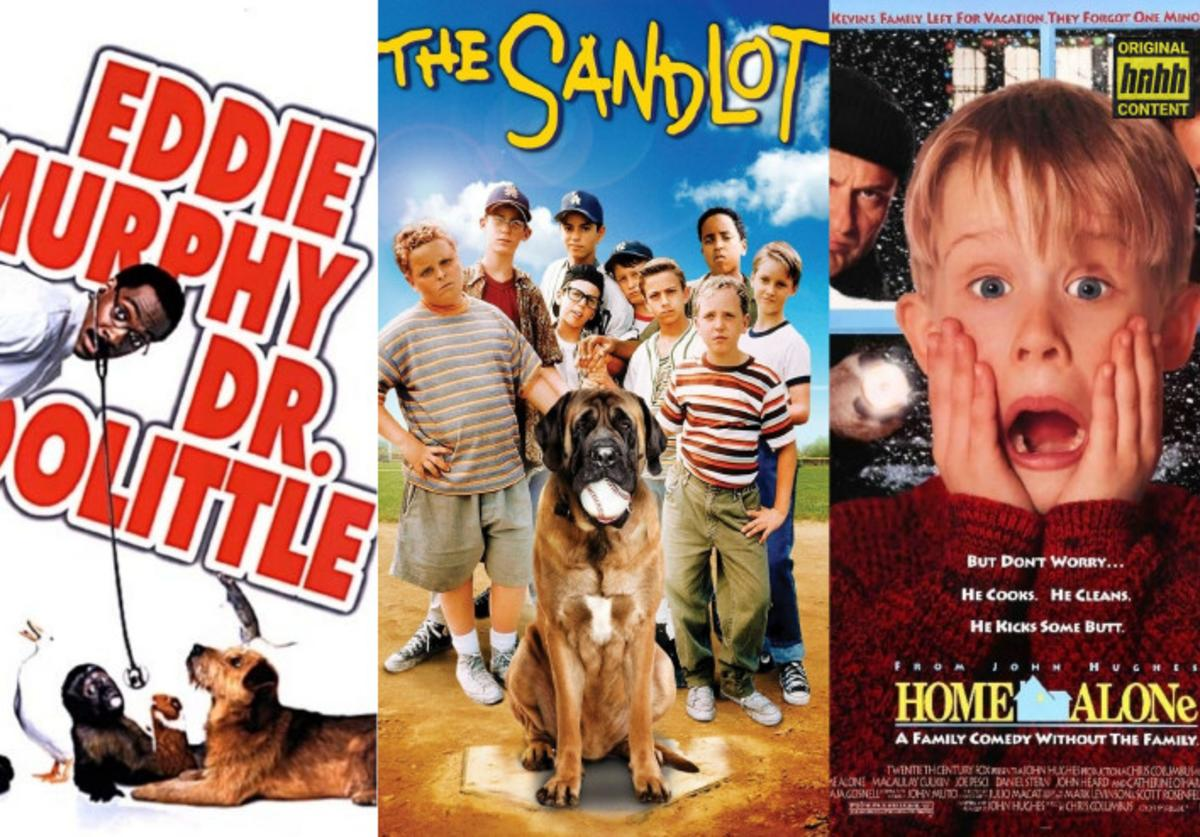 "Official movie posters: ""Dr. Dolittle,"" ""The Sandlot,"" ""Home Alone"""