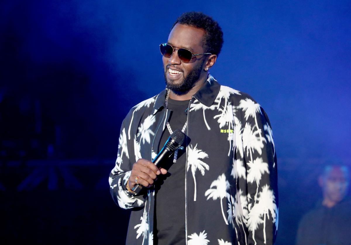 Diddy performs onstage at SOMETHING IN THE WATER - Day 2 on April 27, 2019 in Virginia Beach City.