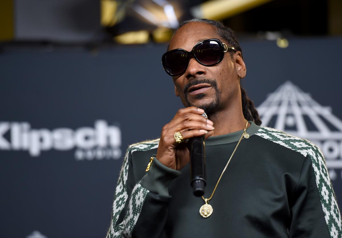 Snoop Dogg attends the Press Room of the 32nd Annual Rock & Roll Hall Of Fame Induction Ceremony at Barclays Center on April 7, 2017 in New York City.