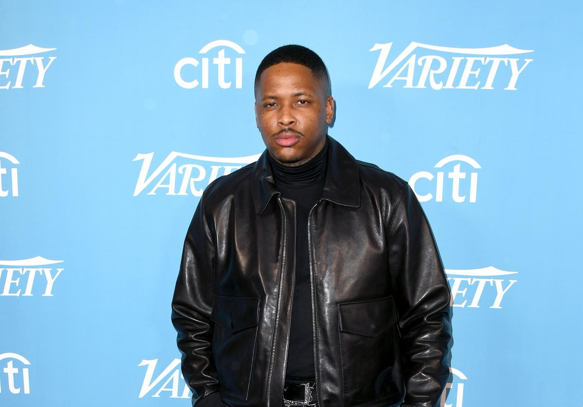 YG at Variety's Hitmakers Brunch