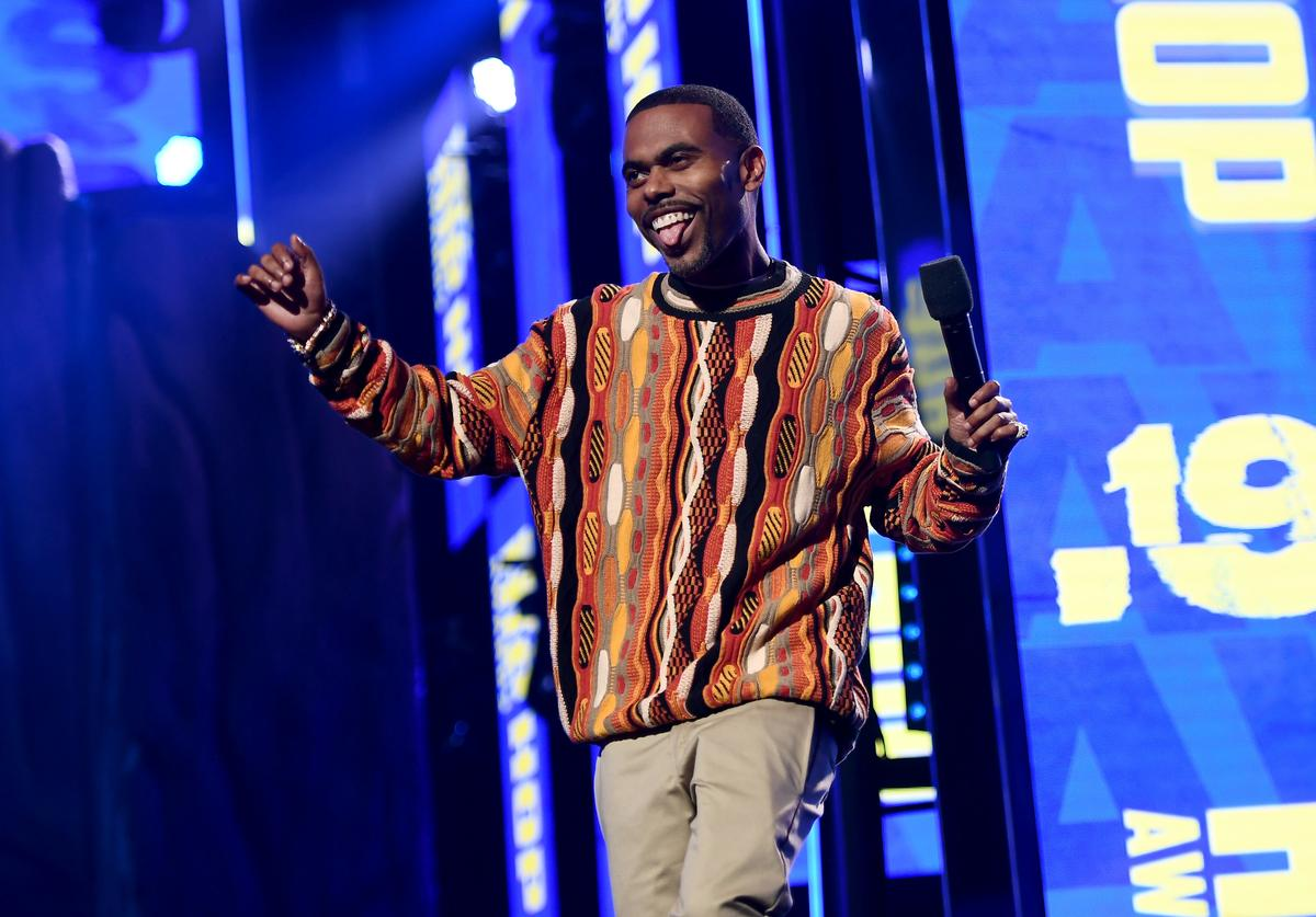 Lil Duval speaks onstage at the BET Hip Hop Awards 2019 at Cobb Energy Center on October 05, 2019 in Atlanta, Georgia