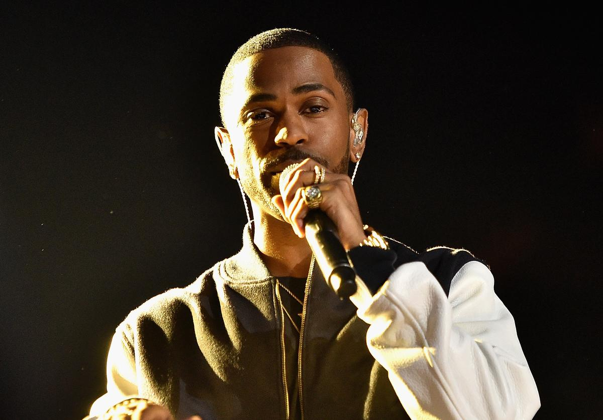 Big Sean performs onstage at WE Day California 2016 at The Forum on April 7, 2016 in Inglewood, California.