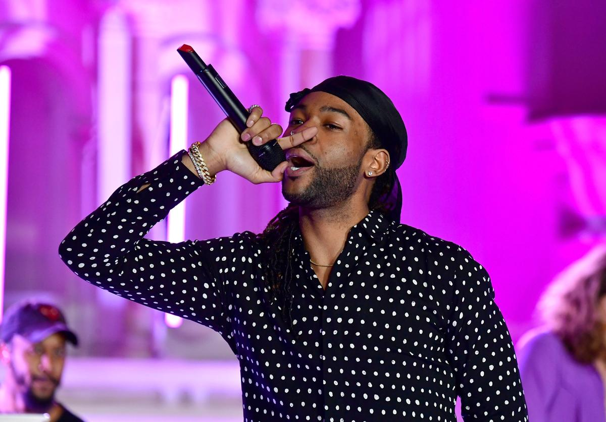 PartyNextDoor performs onstage during Spotify's Inaugural Secret Genius Awards hosted by Lizzo at Vibiana on November 1, 2017 in Los Angeles, California