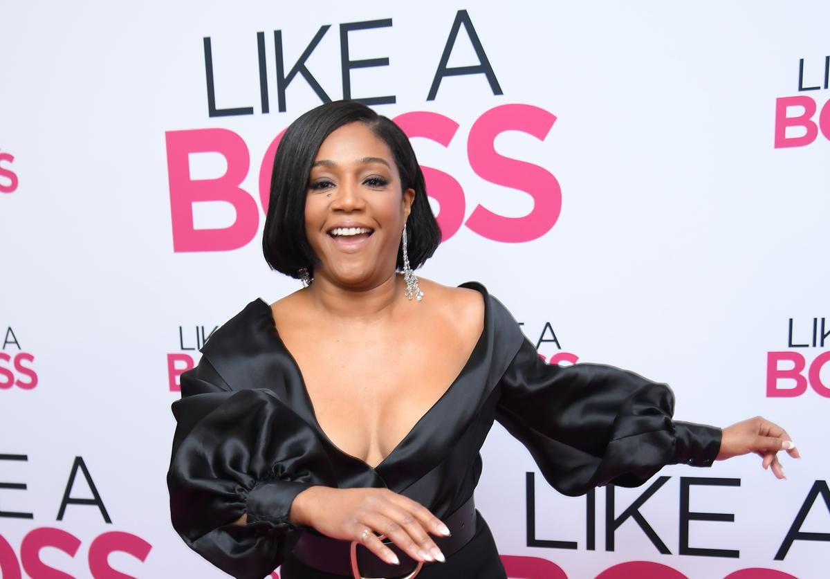 """Tiffany Haddish at the world premiere of """"Like A Boss"""" in NYC"""