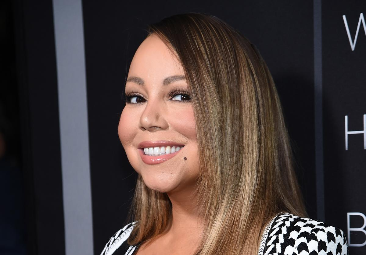 """Mariah Carey at the premiere of Tyler Perry's """"A Fall From Grace"""" in NYC"""