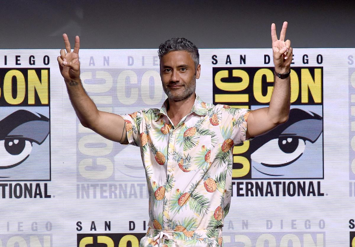 Director Taika Waititi attends the Marvel Studios 'Thor: Ragnarok' Presentation during Comic-Con International 2017 at San Diego Convention Center on July 22, 2017 in San Diego, California.