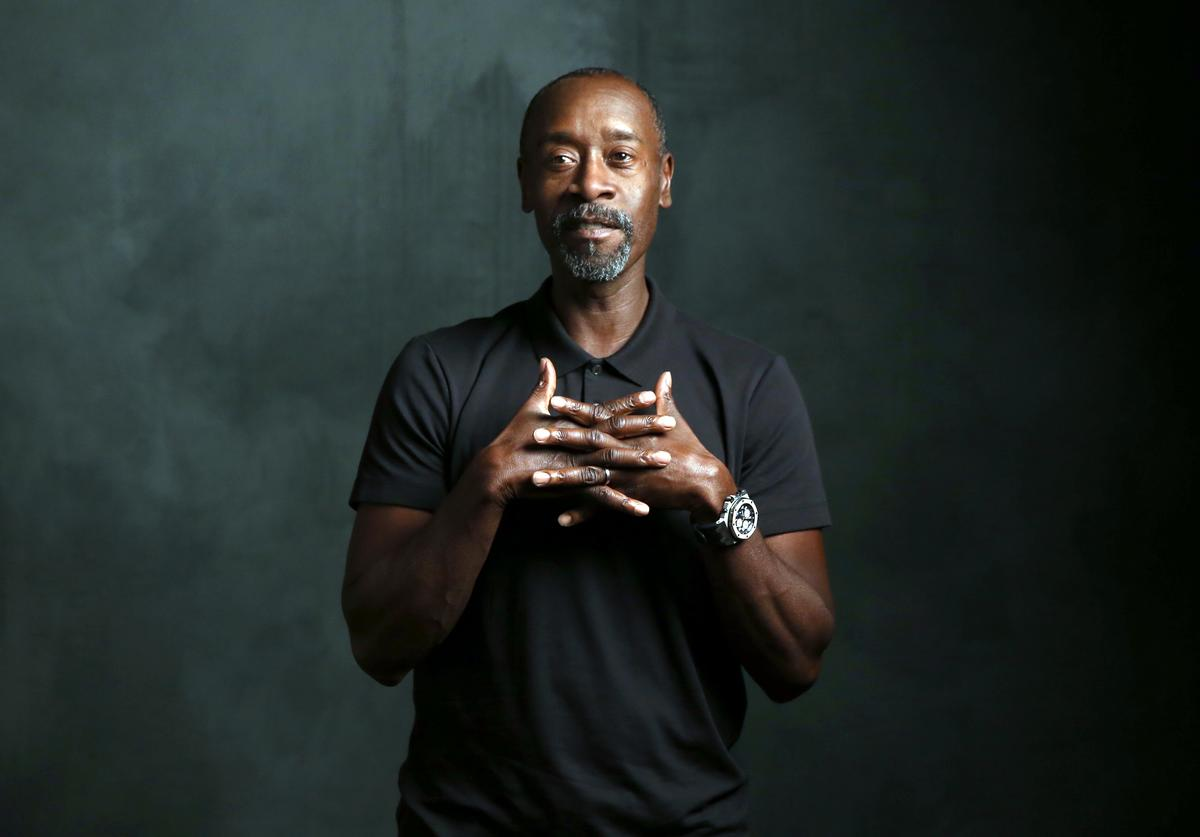 Actor Don Cheadle attends The Samsung Studio at SXSW 2016 on March 15, 2016 in Austin, Texas.